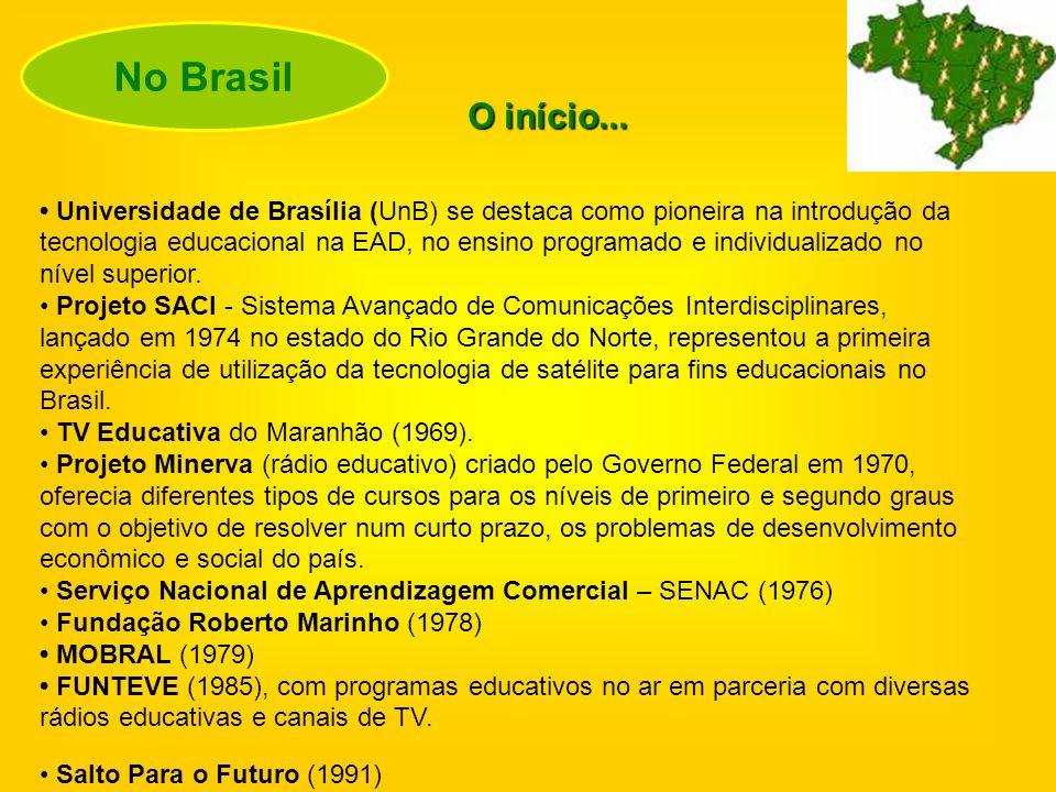 O programa Telecurso 2000 (década de 90), tem suas origens no Telecurso 2º Grau, criado no final da década de 70, numa parceria entre a Fundação Roberto Marinho (Rede Globo, do Rio de Janeiro) e a Fundação Padre Anchieta (TV Cultura, de São Paulo).
