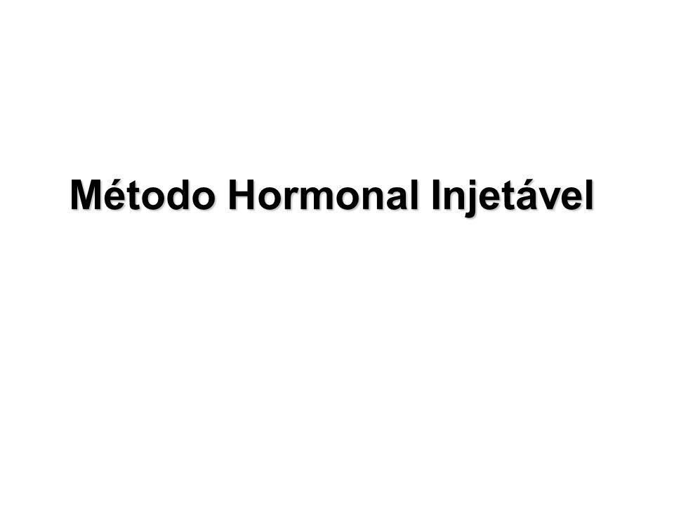 Método Hormonal Injetável