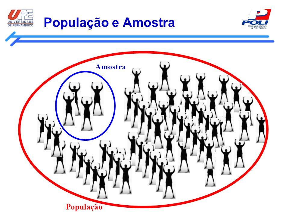 População e Amostra População Amostra