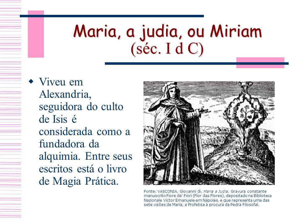 Maria, a judia, ou Miriam (séc.