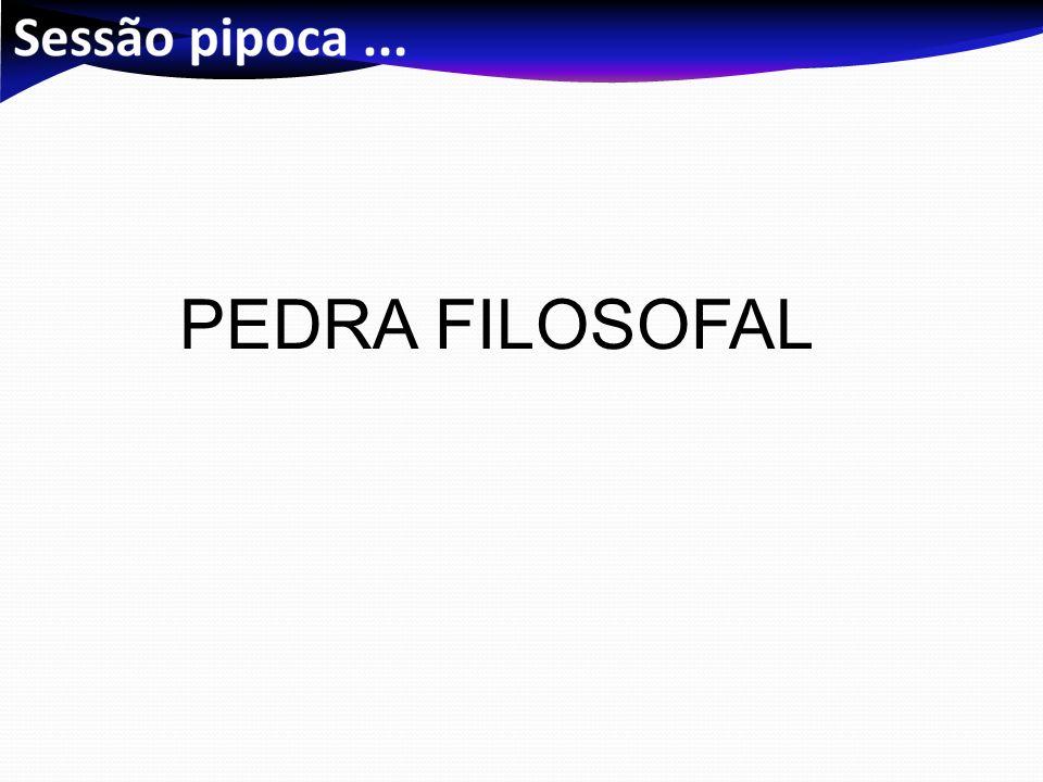 PEDRA FILOSOFAL