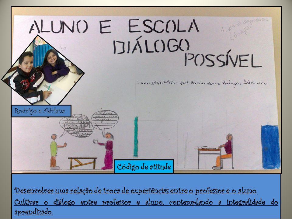 Desenvolver uma relação de troca de experiências entre o professor e o aluno. Cultivar o diálogo entre professor e aluno, contemplando a integralidade