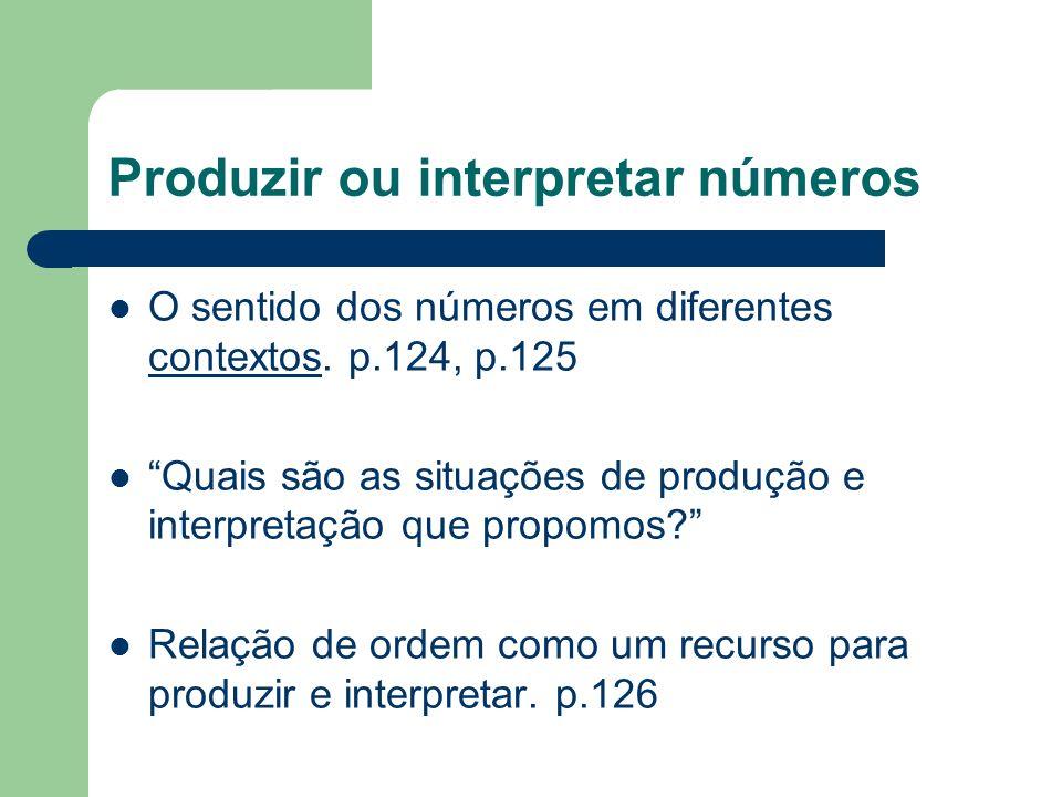 60053 653 610053 61053 De que modo as crianças, no texto, explicam a notação convencional do número 653.