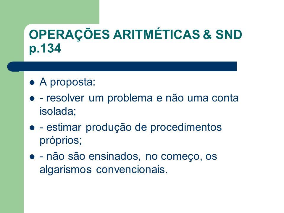 Estratégias das crianças p.135-138 O que as crianças utilizam sistematicamente para justificar suas produções.