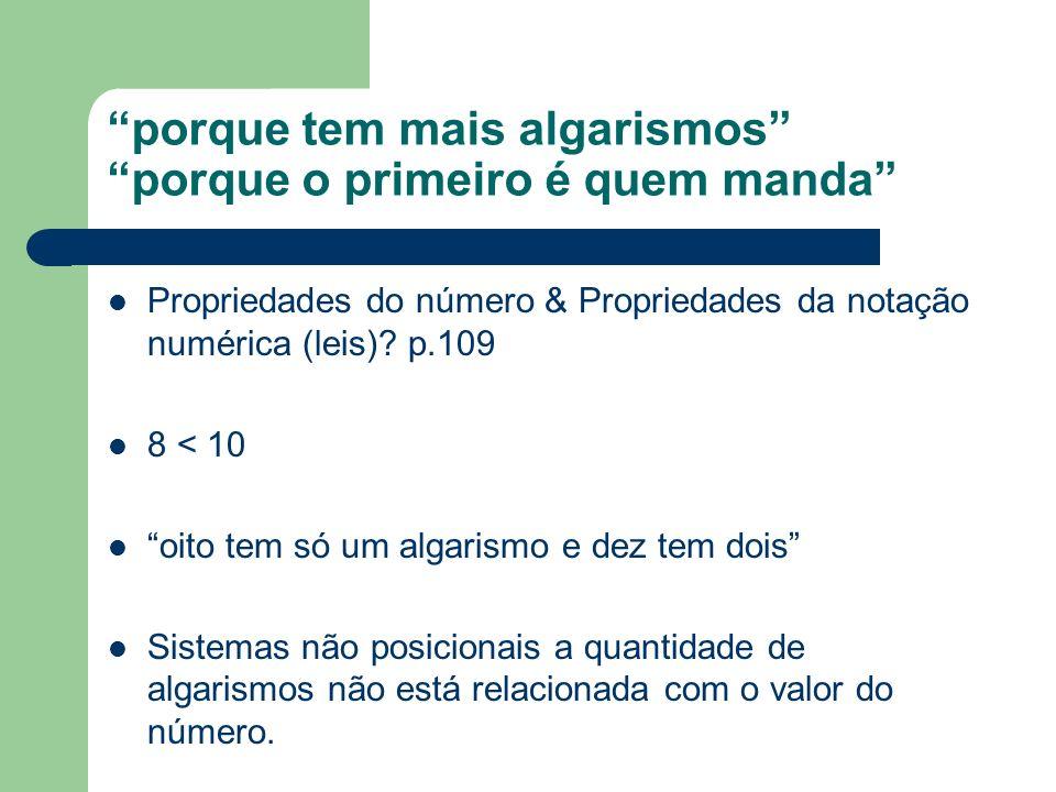 SND O valor que representa cada algarismo se obtém multiplicando esse algarismo por uma determinada potência de base.