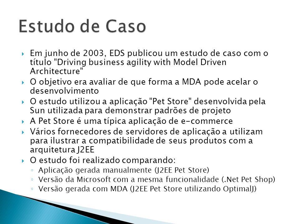 Em junho de 2003, EDS publicou um estudo de caso com o título