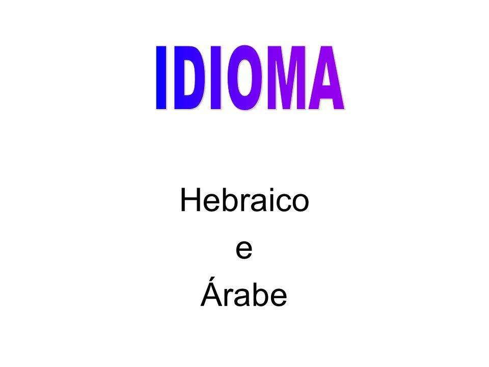 Hebraico e Árabe