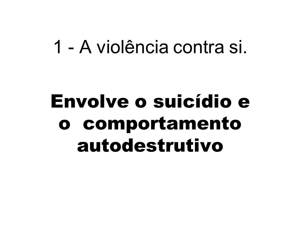 1.Violência estrutural Também chamada violência branca.