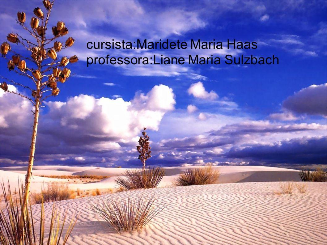 h cursista:Maridete Maria Haas professora:Liane Maria Sulzbach