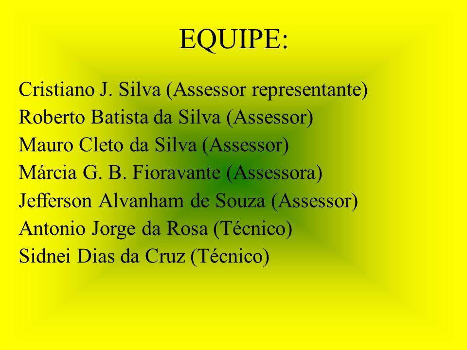 EQUIPE: Cristiano J.