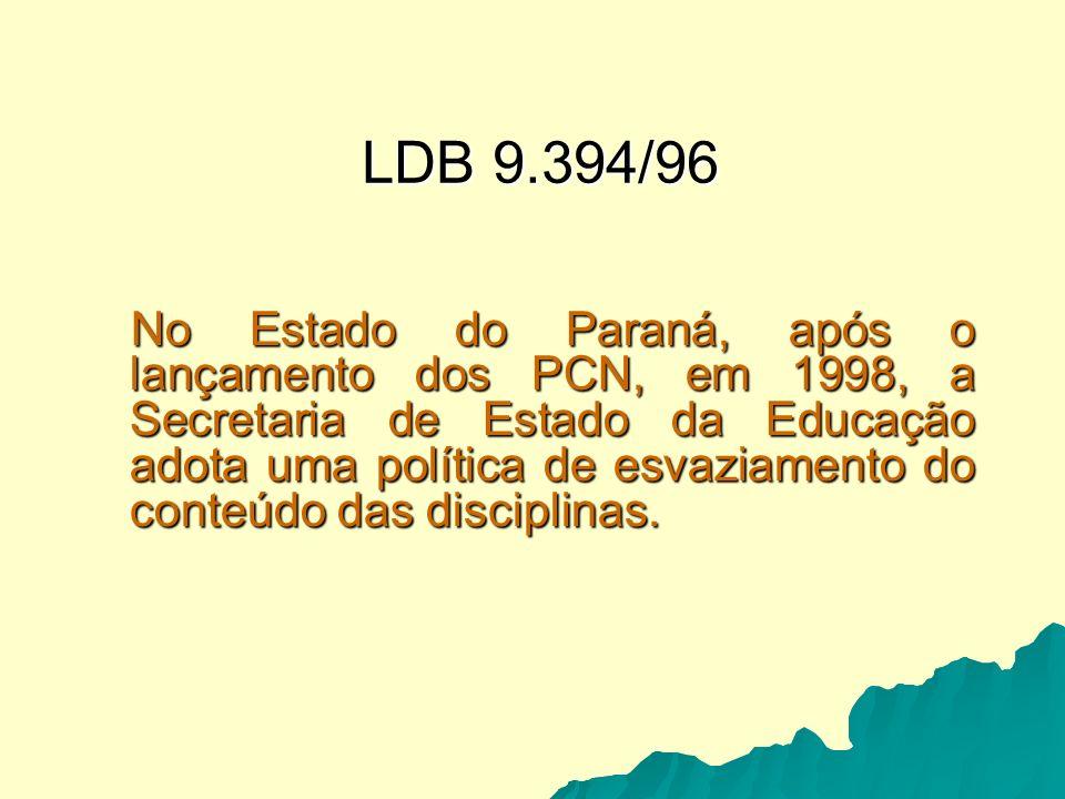 DIRETRIZES CURRICULARES 2003 – DIAGNÓSTICO.2003 – DIAGNÓSTICO.