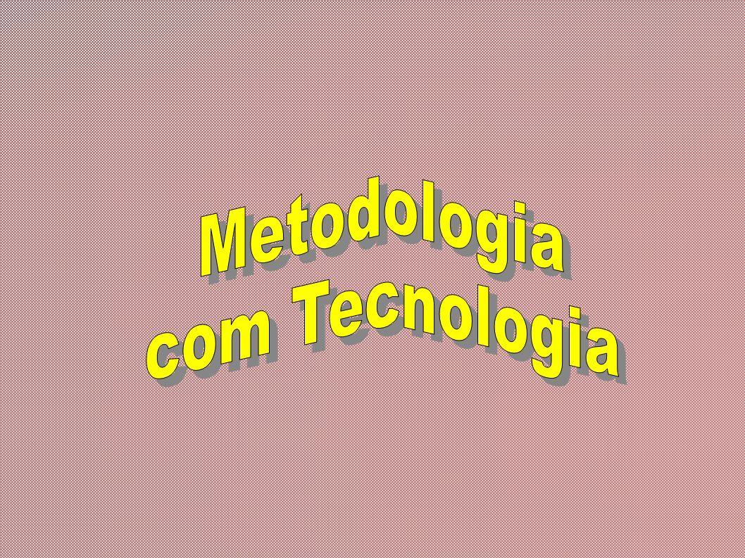A metodologia são instrumentos usados para facilitar a aprendizagem.