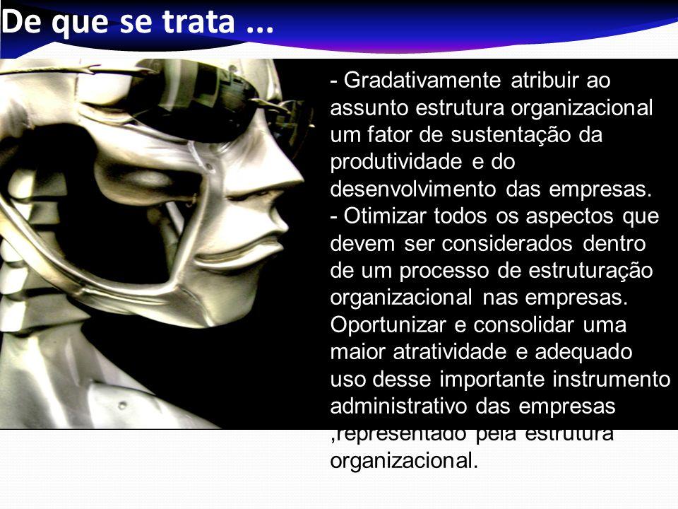 Ementa Cultura como definição de crenças e valores organizacionais para o desenvolvimento, implementação e avaliação da estrutura organizacional.