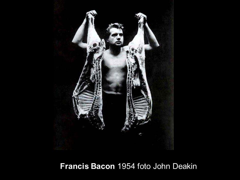 Francis Bacon 1954 foto John Deakin