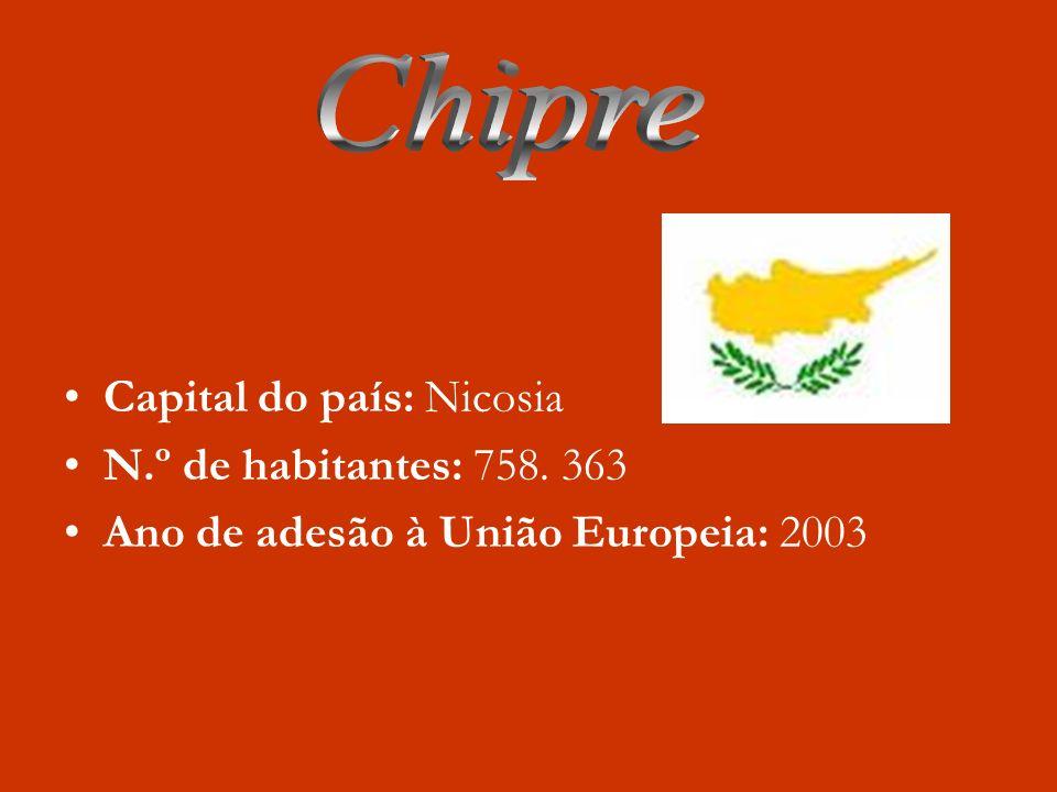 Capital: Bucareste N.º de habitantes: 22.246.862 habitantes Ano de Adesão á União Europeia: 2007