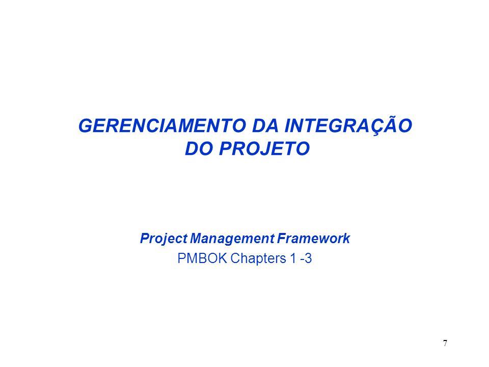38 CARACTERÍSTICAS DO CICLO DE VIDA DE PROJETOS A capacidade de influenciar as características dos produtos do Projeto bem como o Custo final do Projeto são maiores no início do Ciclo de Vida.