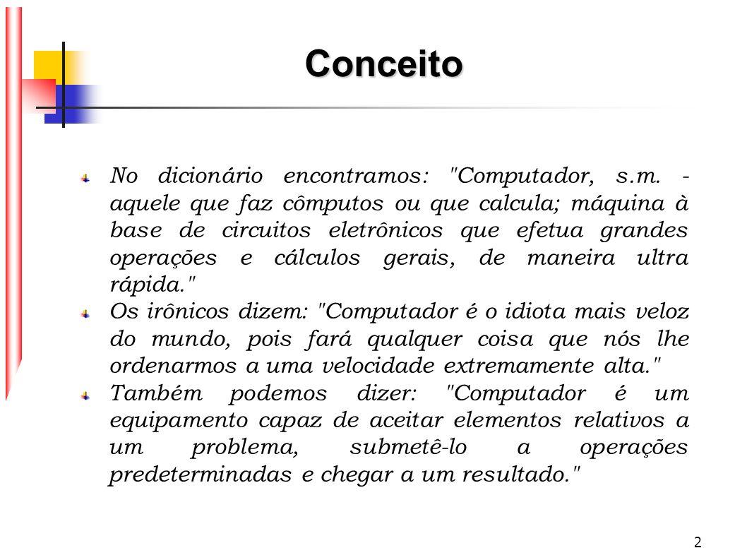 2 Conceito No dicionário encontramos: