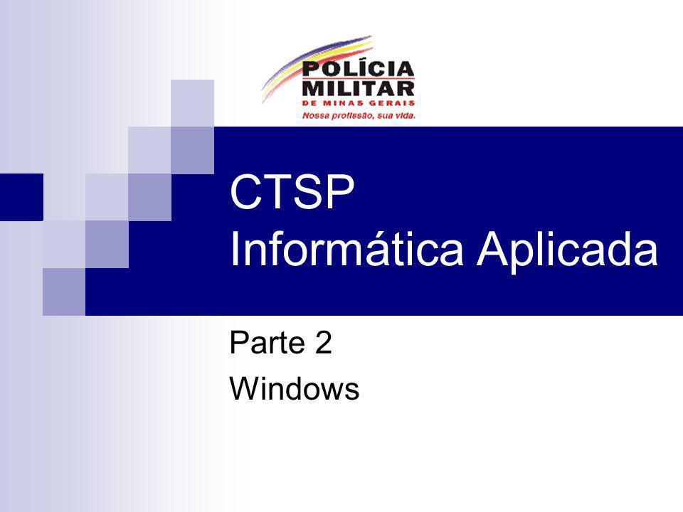 CTSP Informática Aplicada Parte 2 Windows
