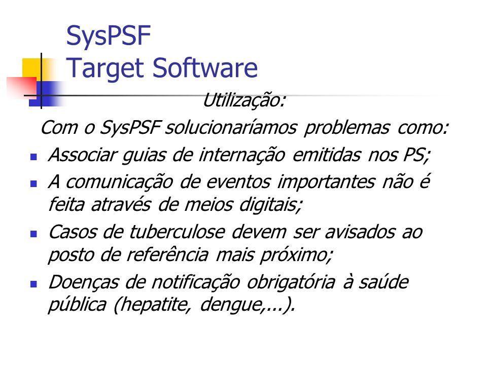 O Sistema O SysPSF é um aplicativo que adota o principio de um sistema distribuído, desenvolvido em Java que roda tanto em Desktop como em dispositivos móveis.