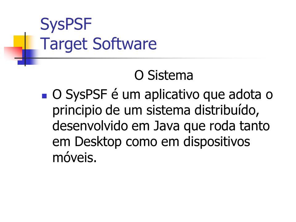 SysPSF Target Software Sem o SysPSF Com o SysPSF