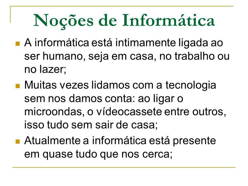 O que é informática.Informática significa informação automática, ou seja, informação rápida.