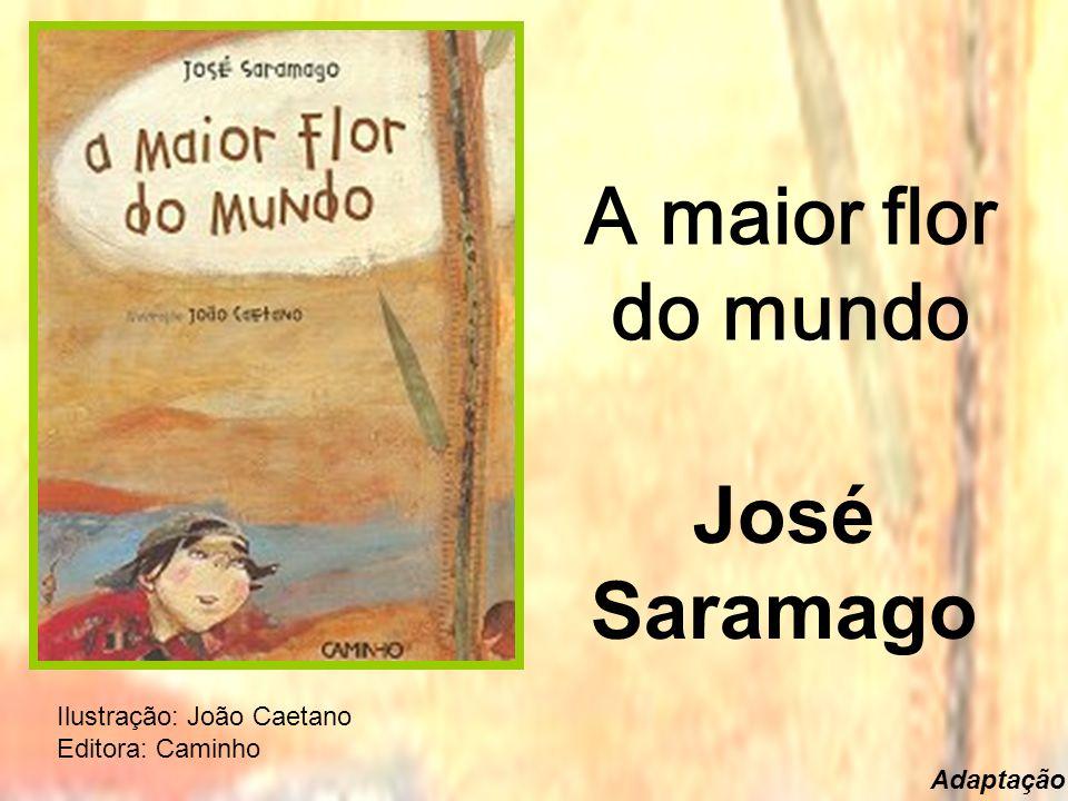 A maior flor do mundo José Saramago Ilustração: João Caetano Editora: Caminho Adaptação