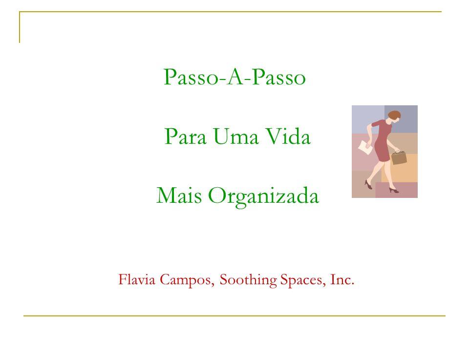 Passo-A-Passo Para Uma Vida Mais Organizada Flavia Campos, Soothing Spaces, Inc.