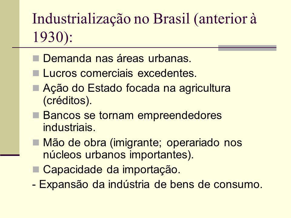 Início da Era Vargas: O desenvolvimento do capital cafeeiro engendrou os pré-requisitos fundamentais para que a economia brasileira pudesse responder criativamente à crise de 1929.