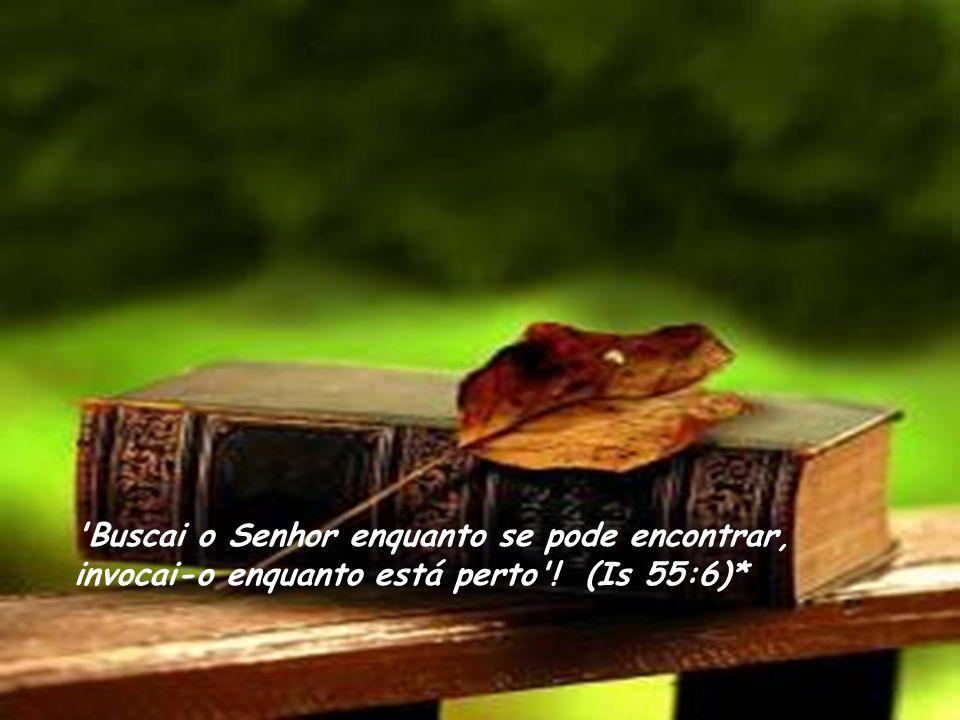 Ao contrário do Telemóvel, a Bíblia não fica sem sinal. Ela tem sinal' em qualquer lugar. A gente não precisa de se preocupar com a falta de crédito p