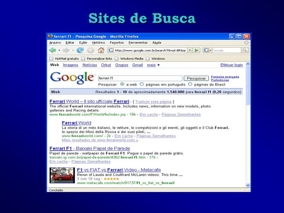 Sites de Busca