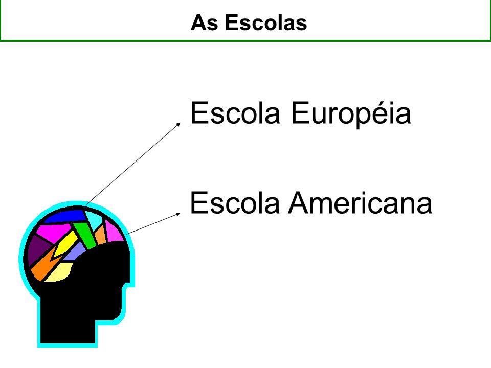 Escola Européia Escola Americana As Escolas