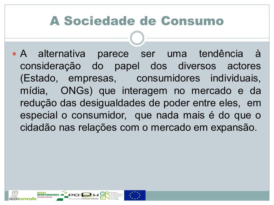 A alternativa parece ser uma tendência à consideração do papel dos diversos actores (Estado, empresas, consumidores individuais, mídia, ONGs) que inte