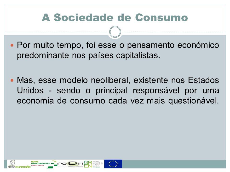 O Poder e a Dependência Consumo/Consumidor