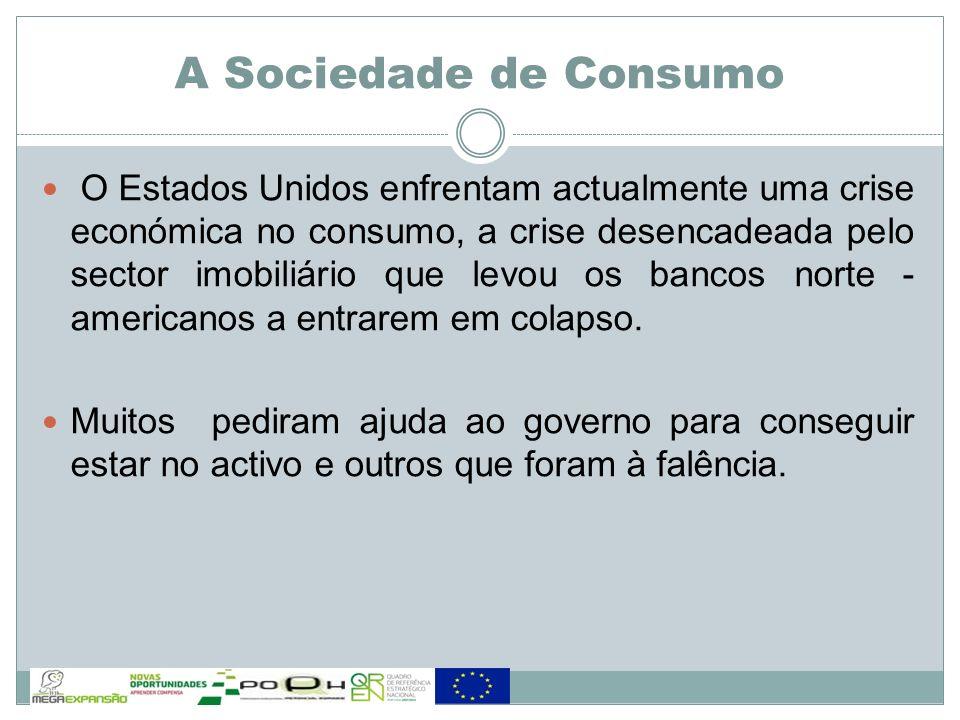 A Sociedade de Consumo NESSA ESTRATÉGIA, O ESTADO LIBERAL FOI DEIXANDO AO MERCADO RESPONSABILIDADES QUE DEVERIAM SER SUAS, COMO FORNECER SAÚDE, LAZER, EDUCAÇÃO E INFRA-ESTRUTURA DE QUALIDADE.