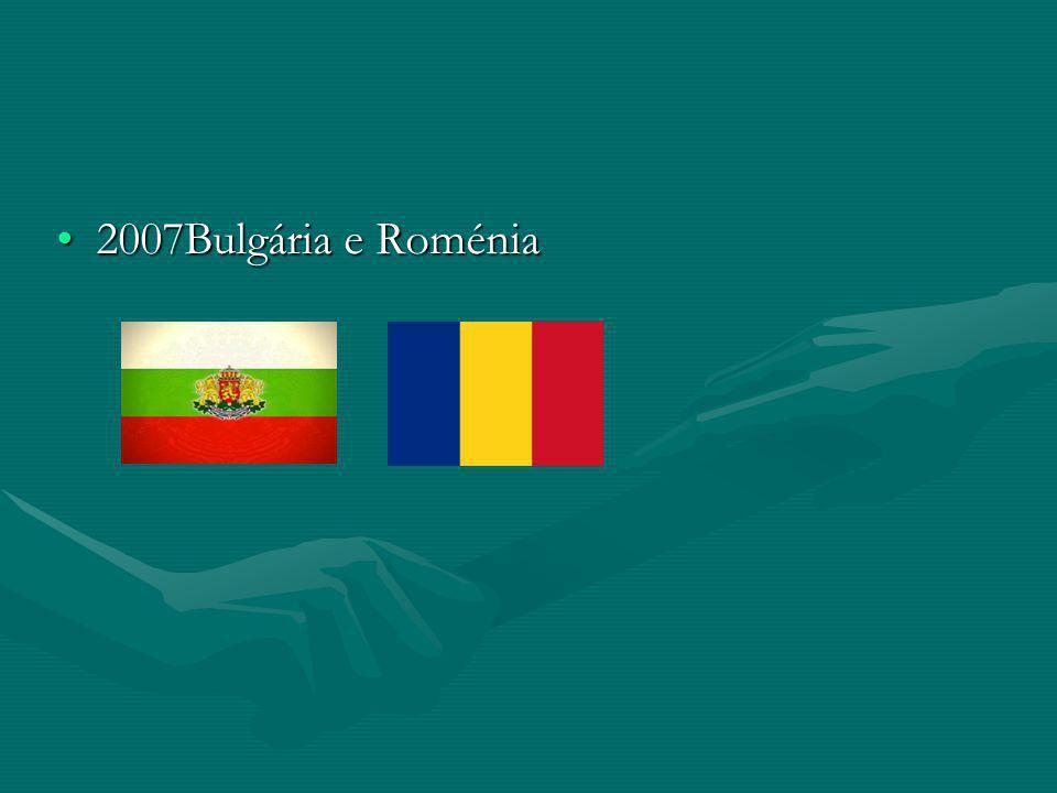 Países candidatos Antiga Republica Jugoslava da Macedónia, Croácia e Turquia.Antiga Republica Jugoslava da Macedónia, Croácia e Turquia.