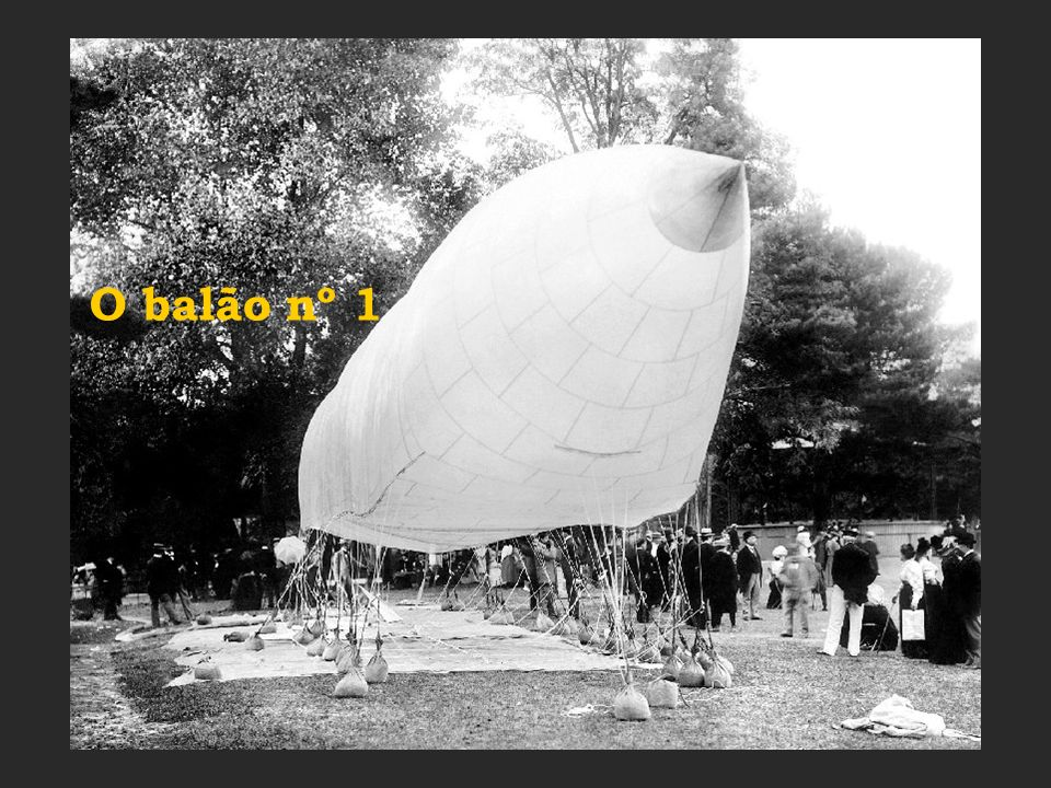 Aliás, que design arrojado para a época tinha este balão !!!