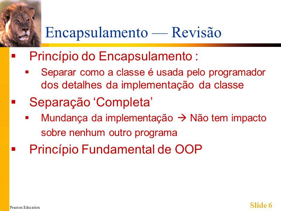 Pearson Education Slide 27 Exemplo: Classe em um Namespace Painel 11.6 página 331