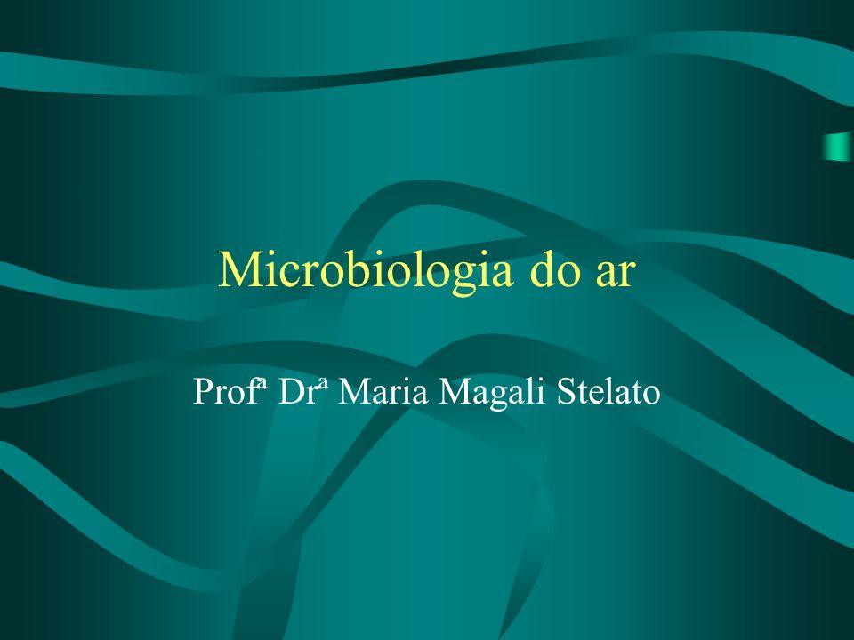 Microbiologia do ar Profª Drª Maria Magali Stelato