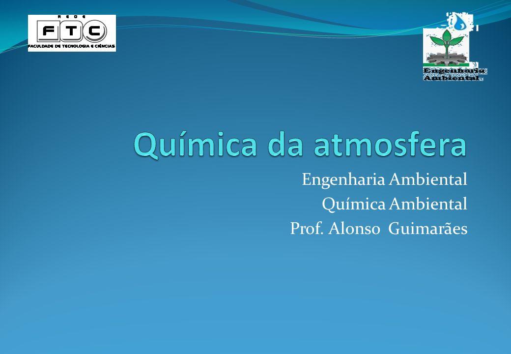 Engenharia Ambiental Química Ambiental Prof. Alonso Guimarães