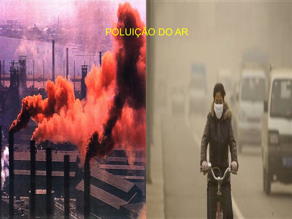 POLUIÇÃO DO AR
