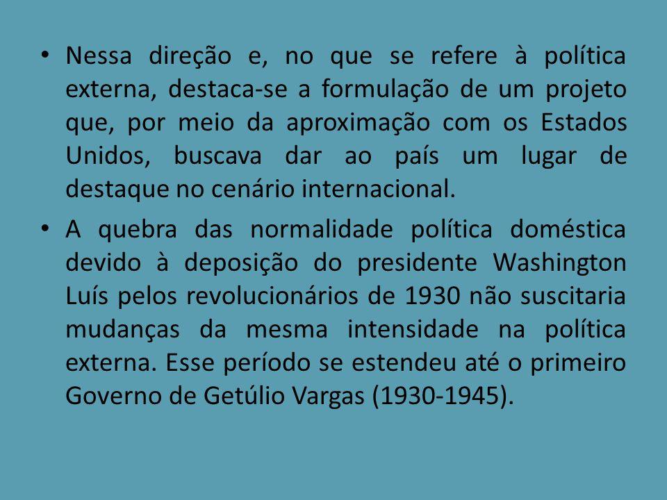 Contudo, a desarticulação do sistema capitalista mundial, em função da crise de 1929, resultou em profunda retração do comércio internacional, atingindo duramente o café, e, conseqüentemente, a entrada de capital estrangeiro no Brasil.