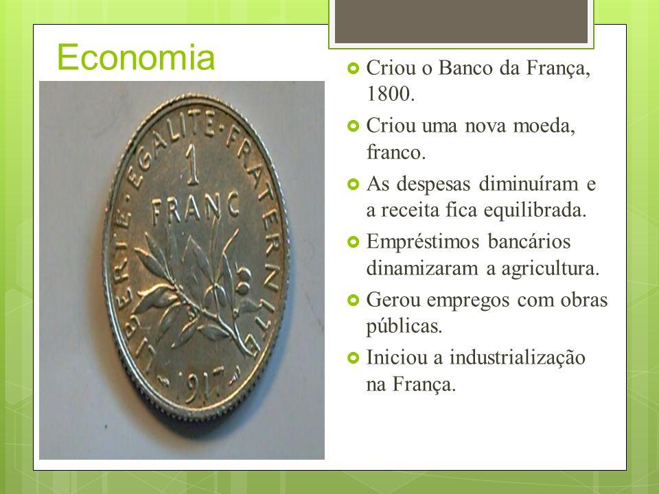 Conflitos econômicos com a Inglaterra O principal e mais poderoso inimigo francês, na época, era a Inglaterra.
