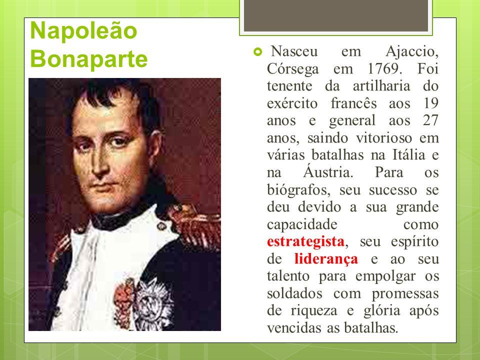 Consulado No consulado, a burguesia detinha o poder e assim, foi consolidada com o grupo central da França.