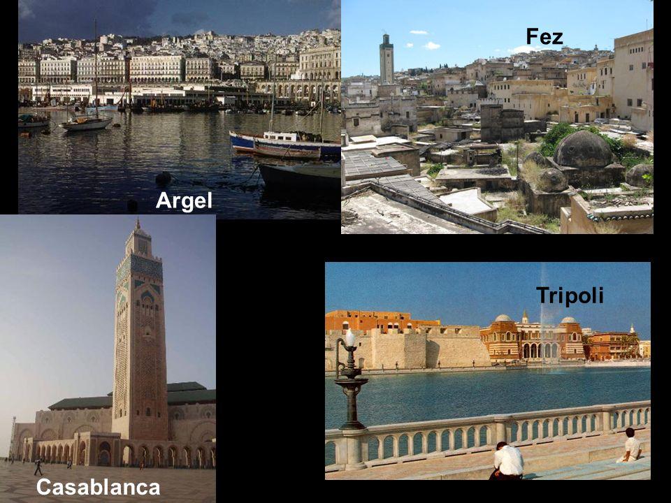 Argel Fez Casablanca Tripoli