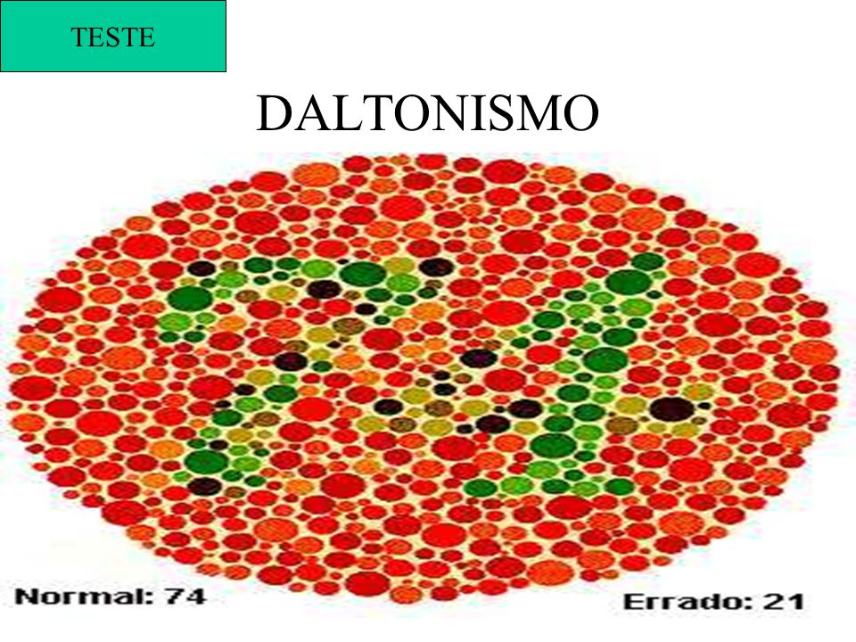 DALTONISMO TESTE