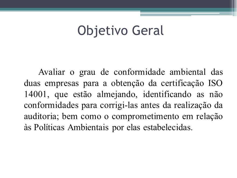 CATEGORIACLASSIFICAÇÃO CONFORMIDADE LEGAL ALTA CONFORMIDADE INFRAESTRUTURA DO CANTEIRO DE OBRA ALTA CONFORMIDADE RECURSOS NATURAIS MÉDIA CONFORMIDADE RESÍDUOS DA CONSTRUÇÃO CIVIL MÉDIA CONFORMIDADE MONITORAMENTO AMBIENTAL MÉDIA CONFORMIDADE RESPONSABILIDADE SOCIOAMBIENTAL NÃO CONFORME Quadro 02 – Resumo do desempenho da obra B da empresa Y.