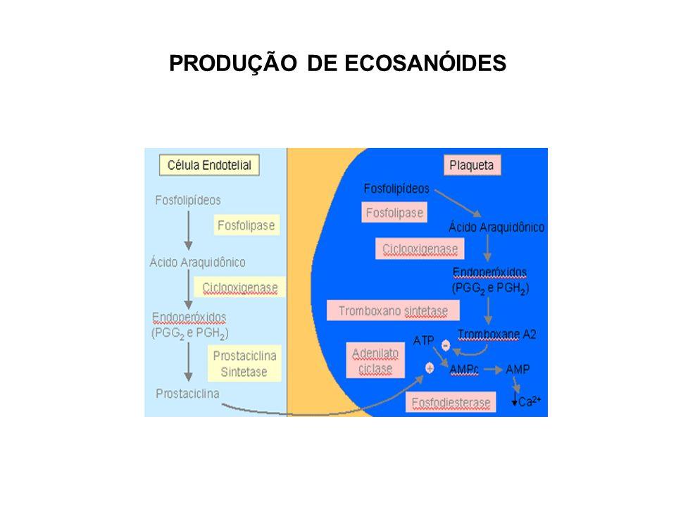PRODUÇÃO DE ECOSANÓIDES
