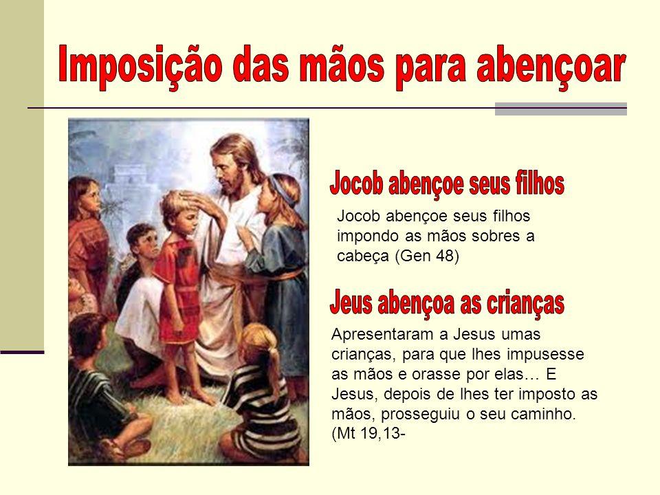 IMPOSIÇÃO DAS MÃOS PARA RECEBER O ESPÍRITO SANTO Existe uma forma de imposição das mãos que é destinada a todos os cristãos para receber o Espírito Santo e curar