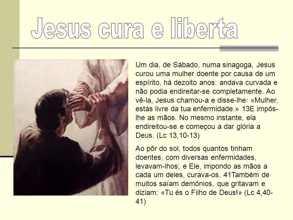 §699 Jesus impondo as mãos cura os doentes e abençoa as criancinhas.