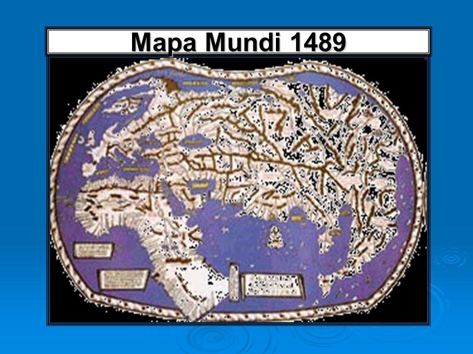 Mapa Mundi 1489